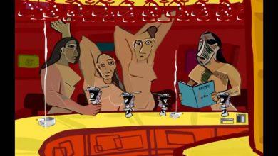 To Kunstbar είναι το στέκι του σουρεαλισμού. Κάθε πρόταση από το μενού του, δημιουργεί παραισθητικά ταξίδια στην τέχνη