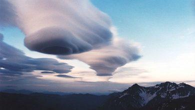 Σπάνιο φυσικό φαινόμενο με εκπληκτικά σπειροειδή σύννεφα
