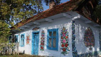Ζωγράφιζαν για να κρύψουν τις ατέλειες και δημιούργησαν το ωραιότερο χωριό