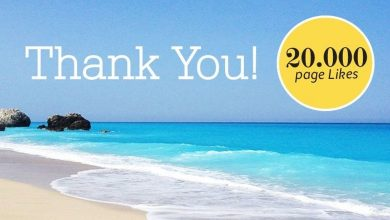 We've reached over 20.000 followers on facebook-Thank you!