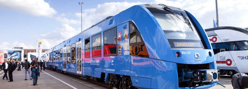 Κατασκευάστηκε το πρώτο τρένο που δεν εκπέμπει ρύπους