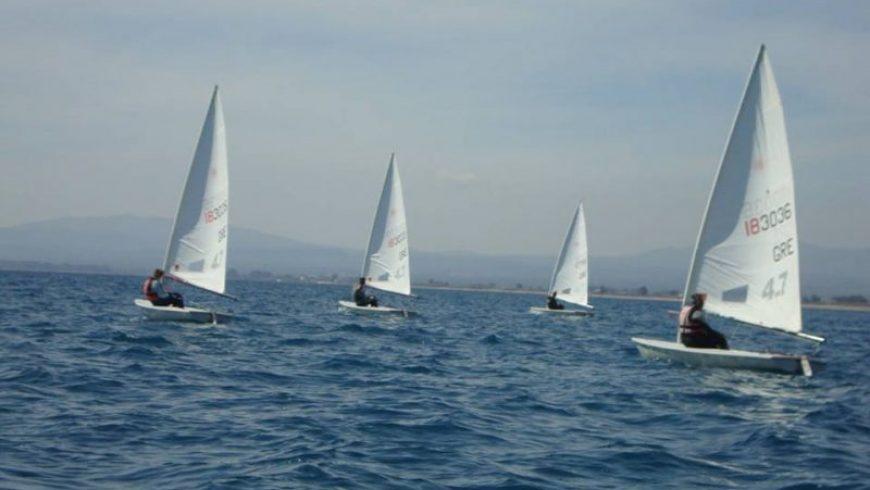 Συμμετοχή του Ναυτικού Ομίλου Λευκάδας στο περιφερειακό πρωτάθλημα Optimist και Laser 4.7