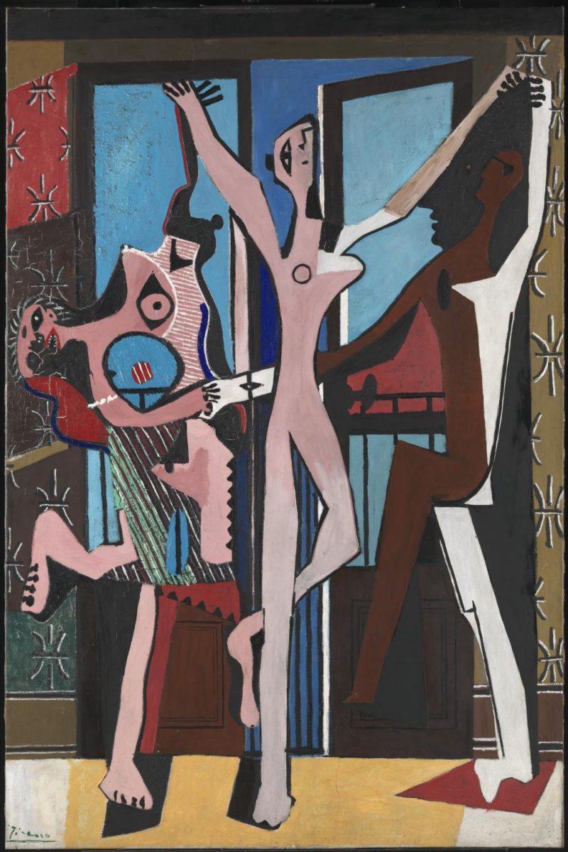Οι «Τρεις χορευτές» του Πάμπλο Πικάσο: η ιστορία πίσω από τον πίνακα