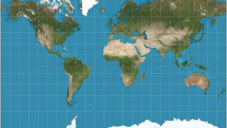 Γιατί ο πιο δημοφιλής χάρτης του κόσμου είναι εντελώς λάθος