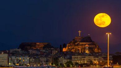 Τα πιο ρομαντικά νυχτερινά τοπία της Κέρκυρας