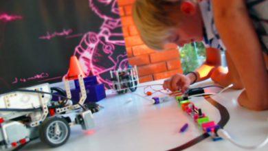 Στα εργαστήρια της Robotixlab τα παιδιά μπορούν να φτιάξουν το δικό τους ρομπότ