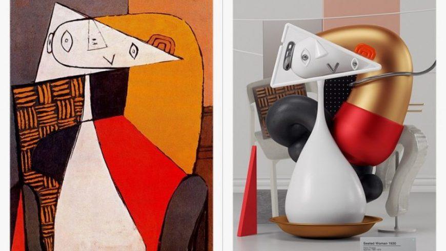 Διάσημα έργα του Πικάσο μετατρέπονται σε υπερρεαλιστικές εικόνες 3D