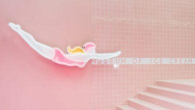 Το πρώτο μουσείο παγωτού στο Λος Άντζελες σε ροζ και κίτρινες αποχρώσεις