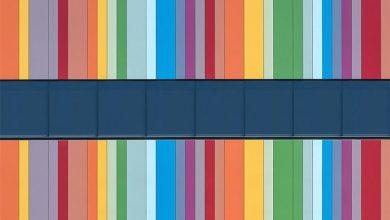 Προσόψεις κτιρίων θυμίζουν abstract πίνακες ζωγραφικής