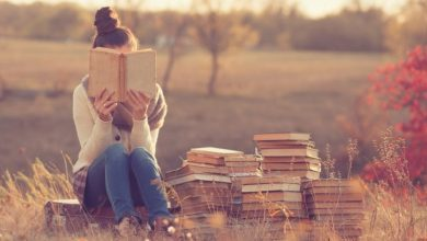 Με ένα βιβλίο κι έναν κήπο…