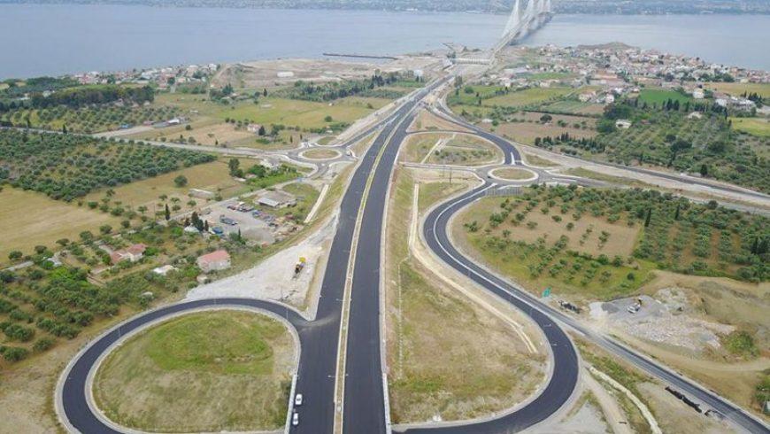 Ιόνια Οδός: Ολοκληρώθηκε η σύνδεση του αυτοκινητόδρομου με τη γέφυρα Ρίου-Αντιρρίου
