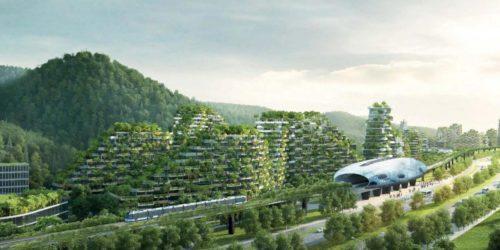 Η Κίνα χτίζει την πρώτη δασούπολη με 40.000 δέντρα