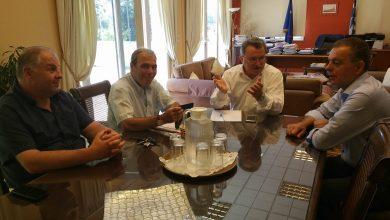 Συνάντηση Περιφερειάρχη Ιονίων Νήσων με Προέδρους Επιμελητηρίων Ιονίων Νήσων