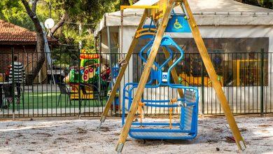Μια παιδική χαρά στην Κηφισιά ανταποκρίνεται στις ανάγκες των παιδιών ΑμεΑ χωρίς να τα διαχωρίζει από τα υπόλοιπα παιδιά