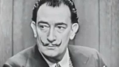 Salvador Dali on the 1950s Game Show 'What's My Line?'