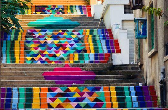 Η ομάδα που ζωγραφίζει σκάλες