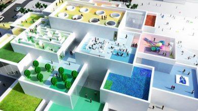 Σαν φτιαγμένες από τουβλάκια οι νέες εγκαταστάσεις της LEGO στη Δανία
