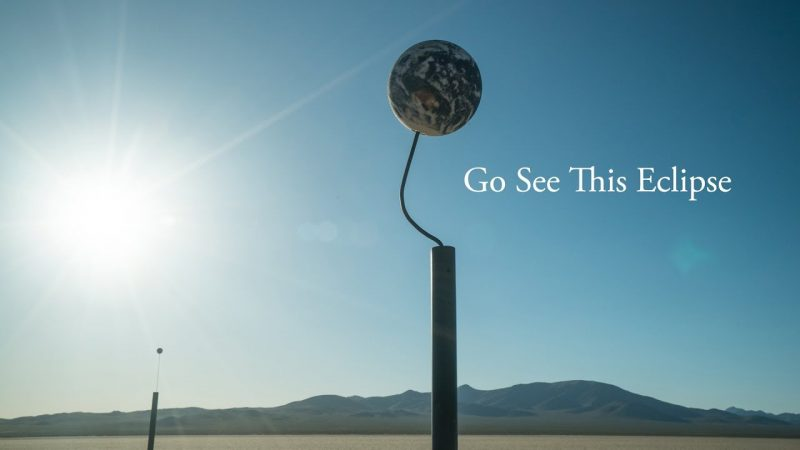 Go See This Eclipse: A Scaled Simulation by Alex Gorosh