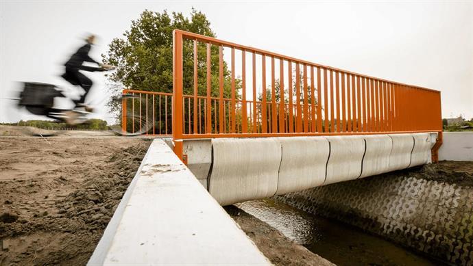 Η πρώτη εκτυπωμένη γέφυρα του κόσμου