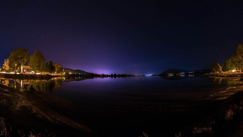 Νυχτερινές λήψεις στις Αλυκές Αλεξάνδρου από τον Αντώνη Αθανασόπουλο