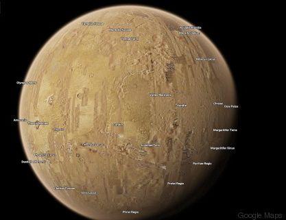 Τώρα μπορείτε να μπείτε στο Google Maps και να ταξιδέψετε σε 16 πλανήτες και φεγγάρια του γαλαξία μας