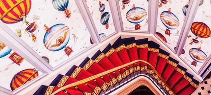 Σκάλες ξενοδοχείων, βγαλμένες από τα παραμύθια