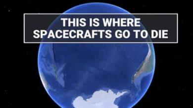 Πού πηγαίνουν τα διαστημόπλοια, όταν πεθαίνουν;