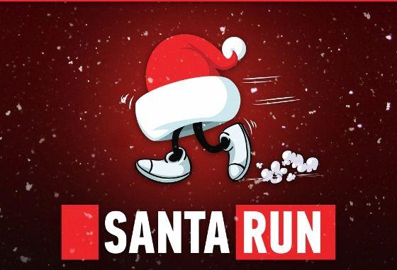 Φιλανθρωπικός αγώνας δρόμου «Santa run» για ενήλικες και παιδιά