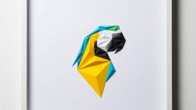 Τα γεωμετρικά πτηνά του Tayfun Tinmaz