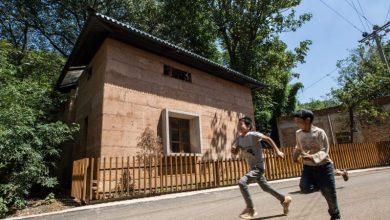 Το «Κτίριο της Χρονιάς 2017» είναι από πατικωμένο χώμα και μπορεί να βοηθήσει 100 εκατ. ανθρώπους