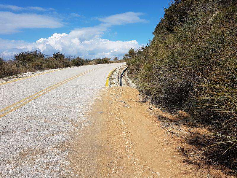 Τοποθέτηση νέου αγωγού ύδρευσης στην περιοχή Αγίας Άννας
