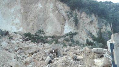 Κλειστός ο δρόμος Απόλπαινας-Τσουκαλάδων λόγω κατολίσθησης