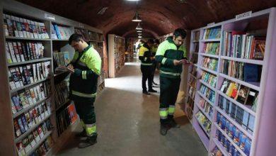 Βιβλιοθήκη από τα σκουπίδια