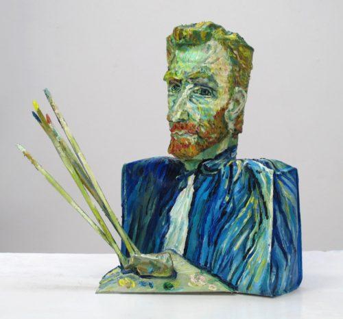 Υπάρχει ένας καλλιτέχνης που δημιουργεί εντυπωσιακά πορτραίτα από… κονσερβοκούτια