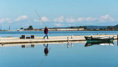 Με το βλέμμα στη λιμνοθάλασσα Λευκάδας