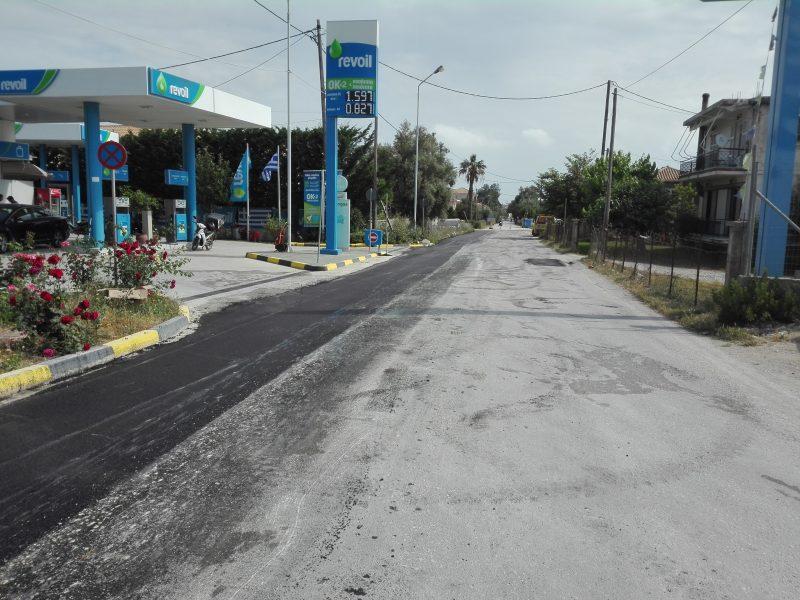 Ολοκληρώθηκε η ασφαλτόστρωση στην οδό Αναπαύσεως