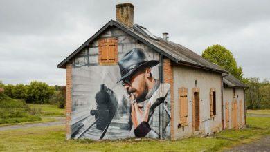 Τρεις Έλληνες street artists «βάφουν» ένα εγκαταλελειμμένο κτίριο στη Γαλλία