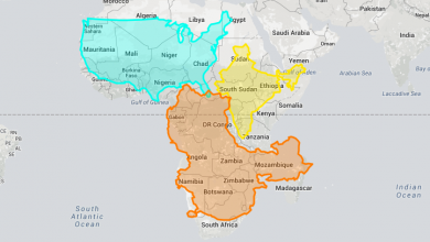 """Eye-Opening """"True Size Map"""" Shows the Real Size of Countries on a Global Scale"""