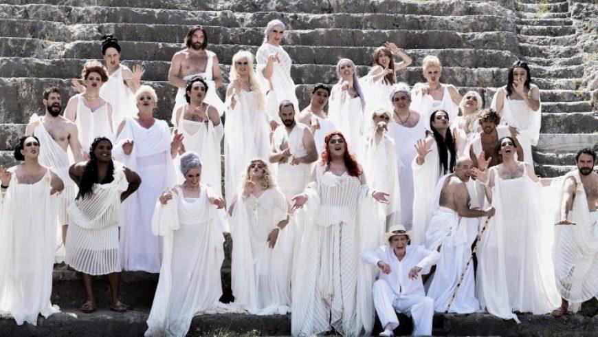 Οι «Εκκλησιάζουσες» στη Λευκάδα
