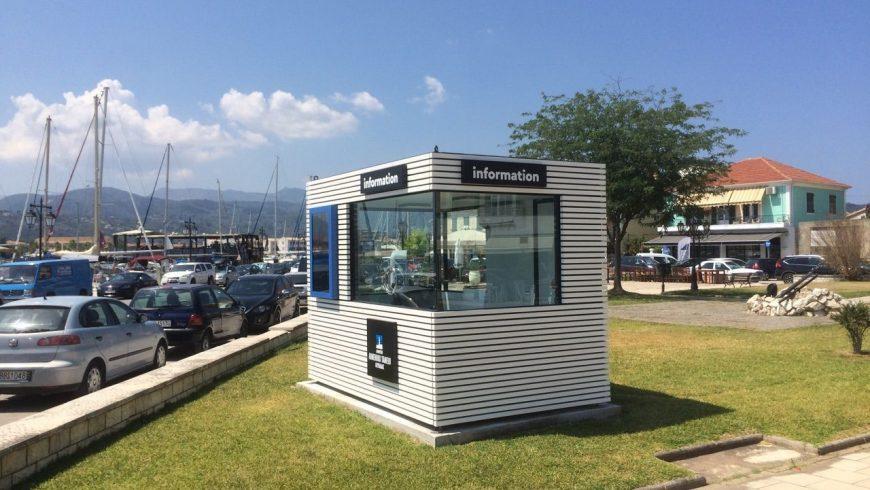 Άνοιξε το Info kiosk στην παραλία της Λευκάδας