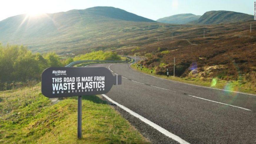 Η Ολλανδία κατασκευάζει δρόμους από ανακυκλωμένα πλαστικά