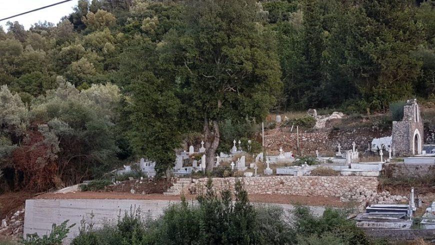 Δήμος Λευκάδας: Ολοκλήρωση παρεμβάσεων στο κοιμητήριο Κοντάραινας