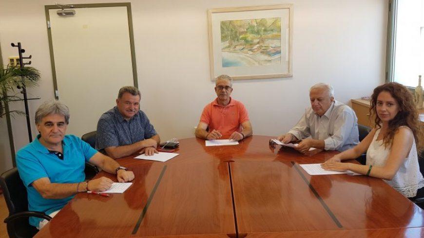Συνάντηση Δημάρχου Λευκάδας με τον Περιφερειάρχη Ιονίων Νήσων