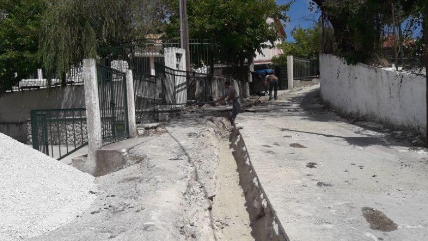 Ολοκλήρωση έργου διευθέτησης ομβρίων στα Λαζαράτα