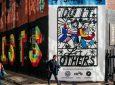 Το μεγαλύτερο graffiti υπέρ του εθελοντισμού βρίσκεται στο Λονδίνο