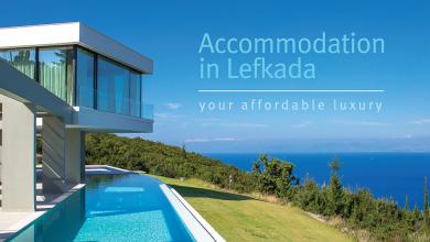 Εκδόθηκε το πολυτελές έντυπο της Ομοσπονδίας Ενοικιαζόμενων Δωματίων Λευκάδας, Accommodation in Lefkada your Affordable Luxury