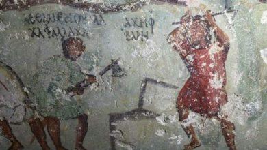 Αρχαίο κόμικ ήρθε στο φως σε τάφο της Ιορδανίας