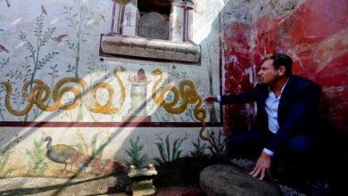 Σπάνιας ομορφιάς ευρήματα και τοιχογραφίες μόλις ανακαλύφθηκαν στην Πομπηία