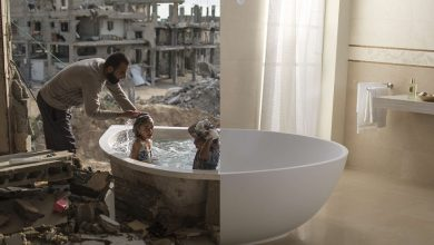 Παράλληλοι κόσμοι: Η δραματική αντίθεση ανάμεσα στην κανονική ζωή και τον πόλεμο
