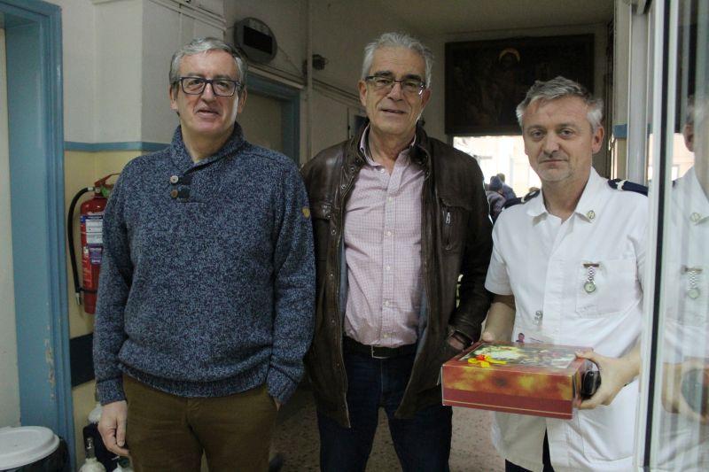 Επισκέψεις σε Κ.Α.Π.Η., Κ.Η.Φ.Η., Γηροκομείο και Νοσοκομείο πραγματοποίησε ο Δήμαρχος Λευκάδας